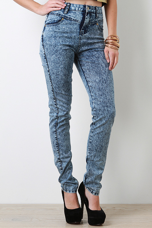 Obscure Femme High Waisted Jeans