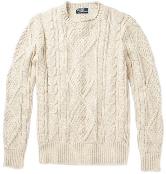 ralph lauren cable knit