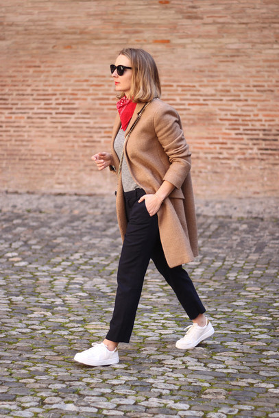 jane's sneak peak blogger coat top pants shoes bag sunglasses
