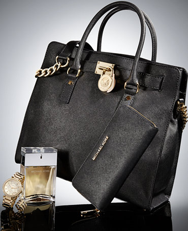 7c706ed9bd90a MICHAEL Michael Kors The Hamilton Deluxe Gift Set - Michael Kors Handbags -  Handbags   Accessories - Macy s