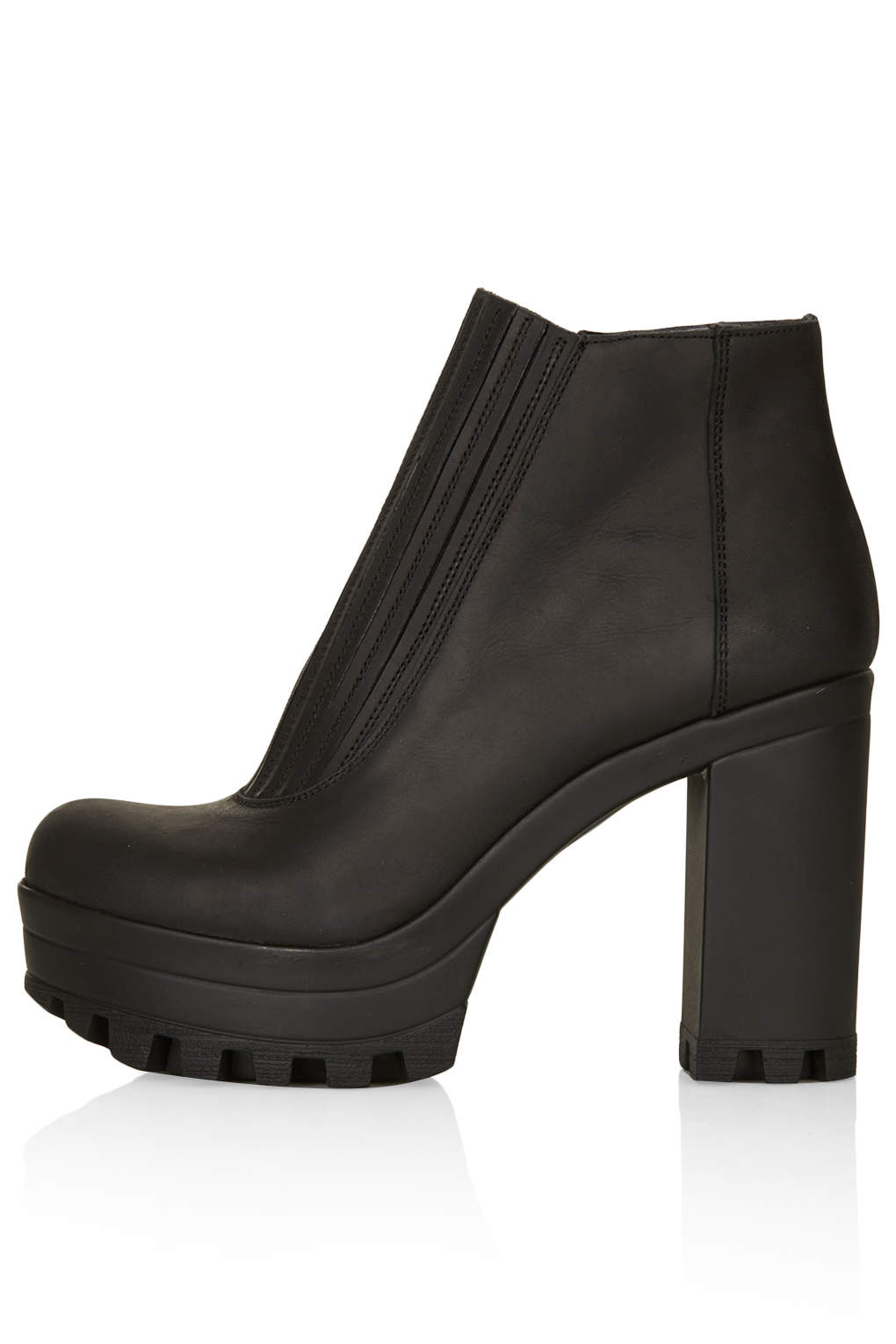 HAPPY Cleated Sole Boots - Boots - Shoes
