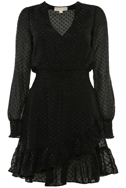 MICHAEL Michael Kors dress polka dots dress jacquard polka dots