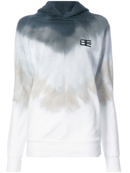 Baja East hoodie women white cotton sweater