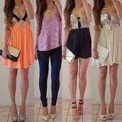 jumpsuit,romper,sequins,sequin dress,party