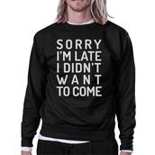 sweater,black sweatshirt,sweatshirt,cute sweaters,graphic sweater,graphic sweatshirt