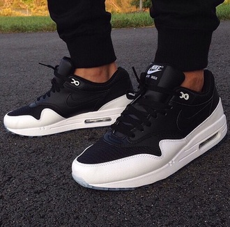shoes black and white air max nike air mens shoes