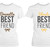 Blonde and Brunette Matching Best Friend Shirts