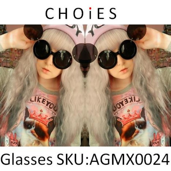 sunglasses mickey mouse cute Choies fashion