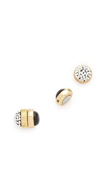 Marc by Marc Jacobs earrings stud earrings black jewels