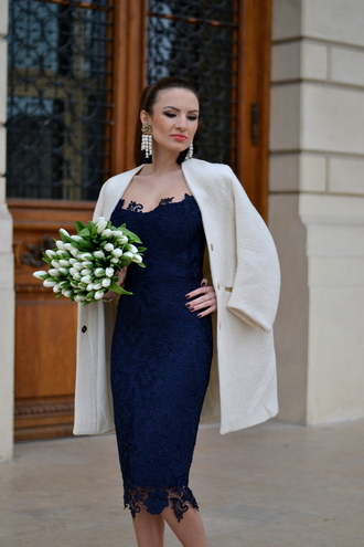 my silk fairytale blogger coat dress shoes jewels