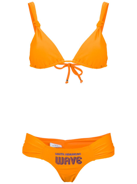 AMIR SLAMA bikini women spandex american swimwear