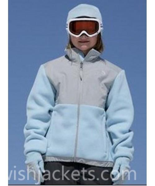 North Face Canada Kids Denali Jacket Blue Bj130372