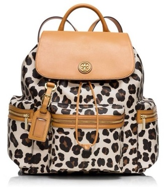 bag backpack summer leapard print style fashion animal print skirt spring animal print bag tory burch