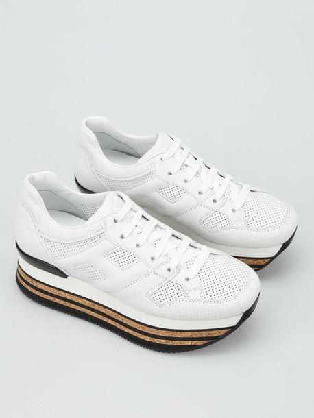 Hogan maxi sneakers white shoes