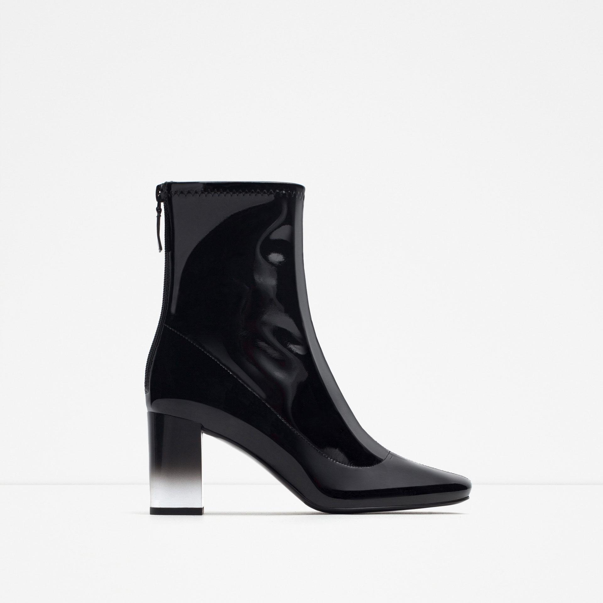 vernies À talon - bottines - chaussures - femme   zara france