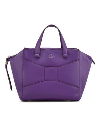 kate spade new york 2 park avenue beau shopper tote bag, purple - Neiman Marcus