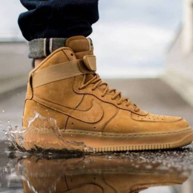 pretty nice 9a09e 4805c Nike Air Force 1 High  07 LV8 WHEAT FLAX shipped 199