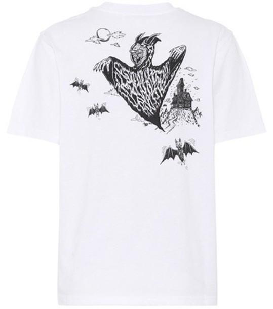 McQ Alexander McQueen t-shirt shirt cotton t-shirt t-shirt cotton white top