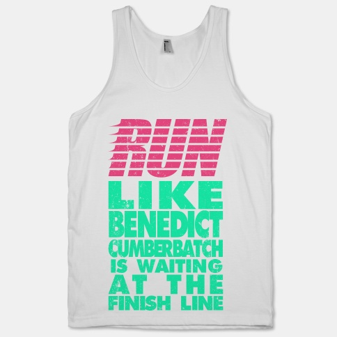 Run Like Benedict Cumberbatch | HUMAN | T-Shirts, Tanks, Sweatshirts and Hoodies