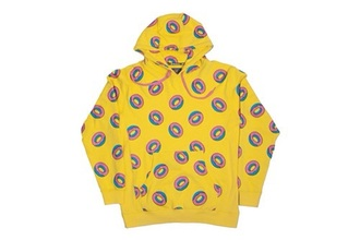 jacket odd future donut hoodie yellow