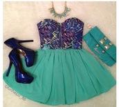 skirt,clothes,tank top,bralette,print top,zip,sleeveless,chiffon,chiffon skirt,jewels,necklace