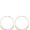 Lolita oversized hoop earrings