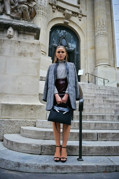 kayture skirt bag jewels shirt coat