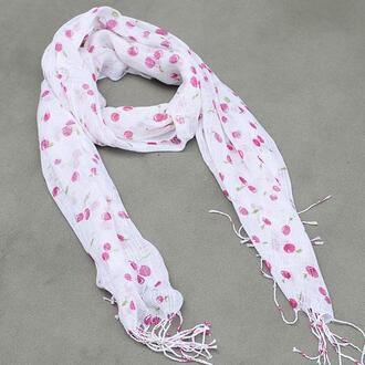 scarf cherry