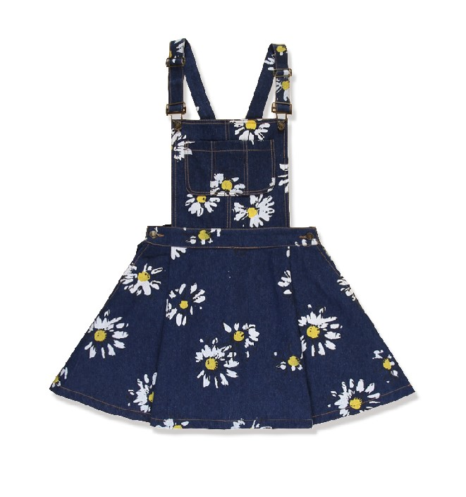 Daisy denim all in one dress from mancphoebe on storenvy
