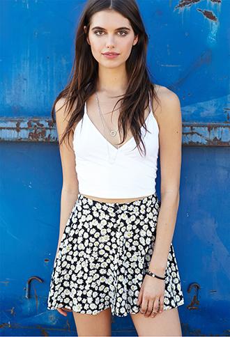 Daisy Doll Buttoned Skirt | FOREVER21 - 2000126380