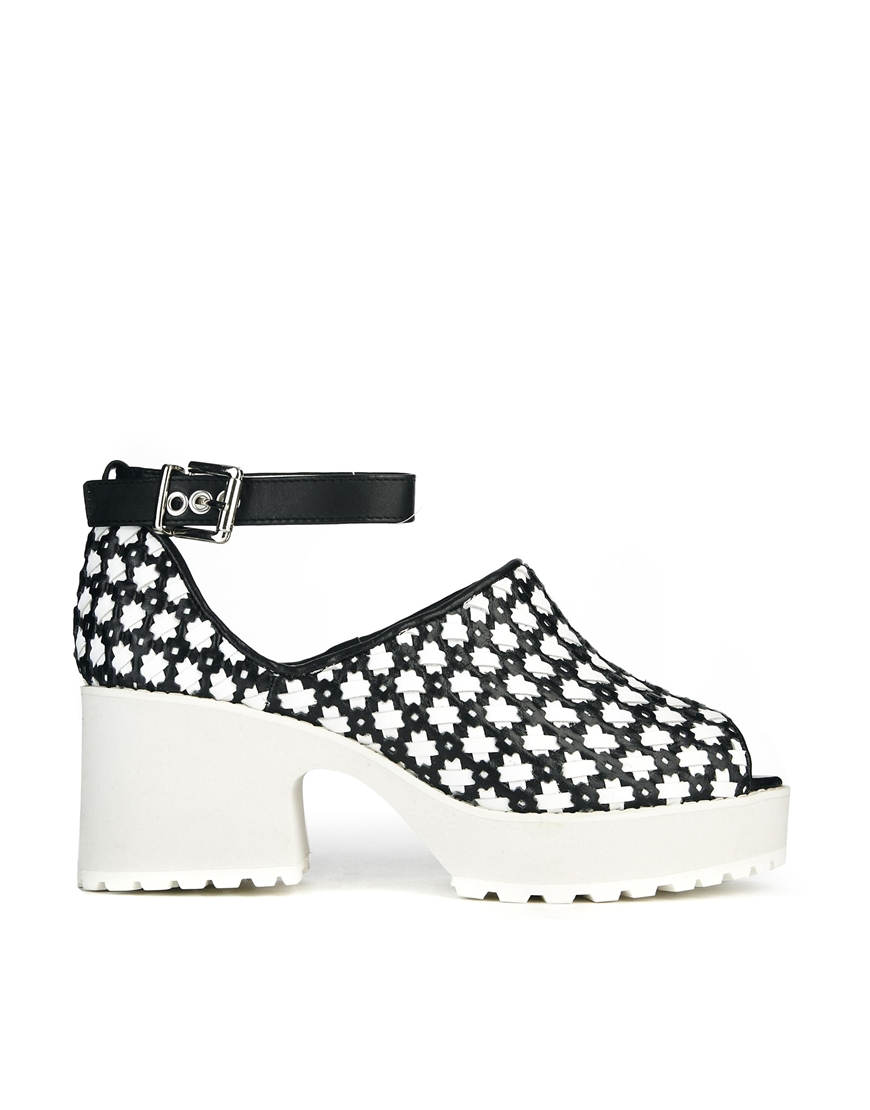 Shellys london mish woven star sandals at asos.com