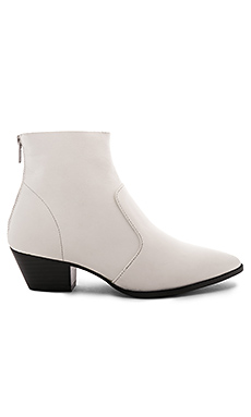 Steve Madden Cafe Bootie in White from Revolve.com