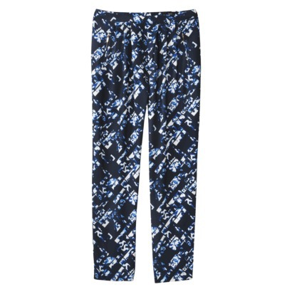 Mossimo® Women's Pleated Drapey Pant Blueprint : Target
