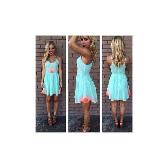 dress blue dress teal dress tribal print
