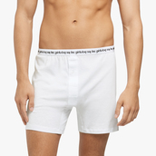 underwear,les girls les boys,low rise,branded underwear,white,boxers,jersey,relaxed