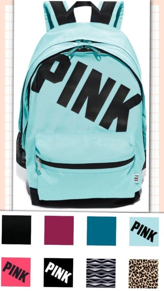 victoria s secret pink campus backpack bookbag  fast free