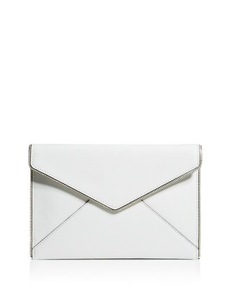 bag clutch leather bag rebecca minkoff