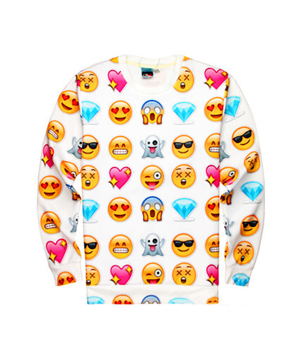 Instagram emoticonts shirt!