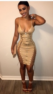 dress,nude,nude dress,lace up,lace up dress,bodycon,bodycon dress,party dress,sexy party dresses,sexy,sexy dress,party outfits,sexy outfit,summer dress,summer outfits,spring dress,spring outfits,fall dress,fall outfits,classy dress,elegant dress,cocktial dress,cocktail dress,cute dress,girly dress,date outfit,birthday dress,cluwbear,clubwear,club dress,graduation dress,homecoming,homecoming dress,wedding clothes,wedding guest,engagement party dress,prom,prom dress,short prom dress,formal,formal dress,formal event outfit,romantic dress,romantic summer dress,summer holidays,holiday dress