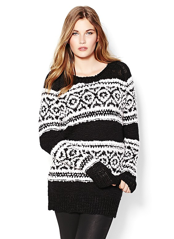Fairisle Sweater - Sweaters - Garage
