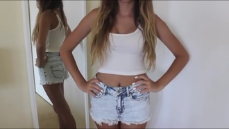 beautybysiena distressed shorts bleached cute shorts
