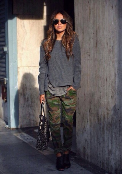 jeans military style