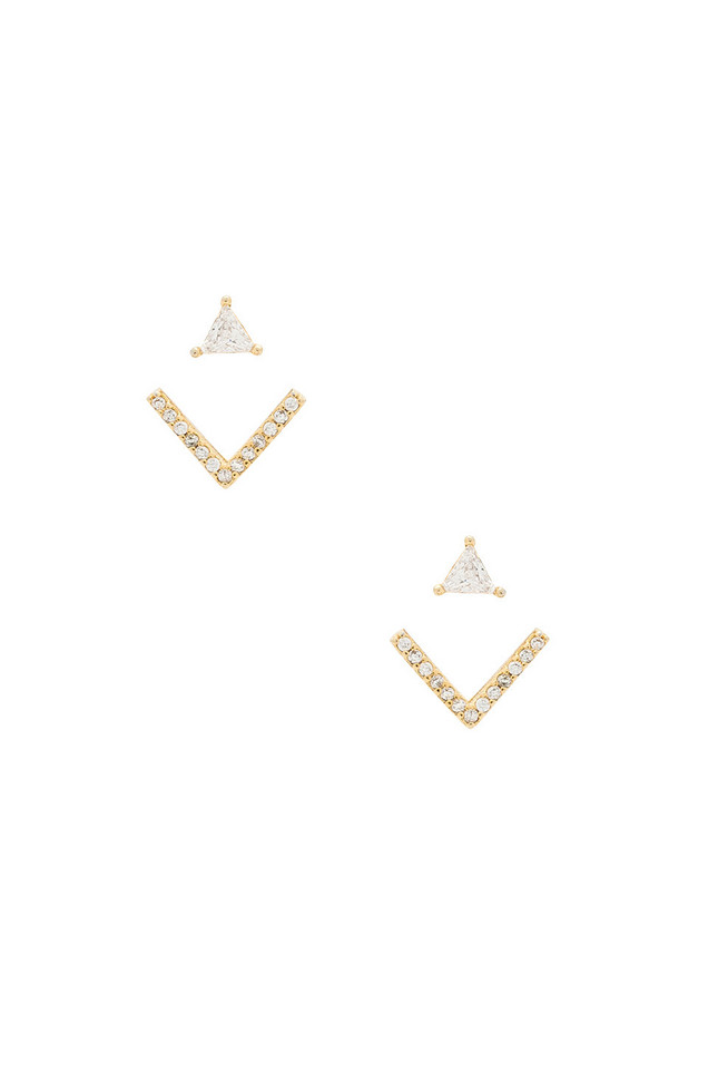 8 Other Reasons Venice Earcuff Earring in gold / metallic