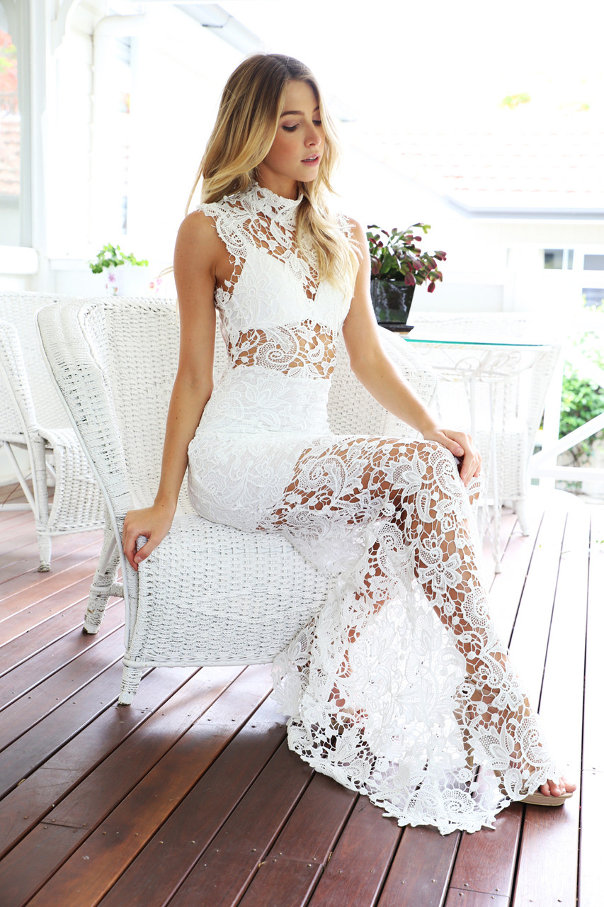 Rolette Lace Maxi Dress – Outfit Made