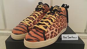 Reebok T Raww Tyga SH Prime Court Mid Cheetah Leopard Tiger Animal Last Kings DS | eBay