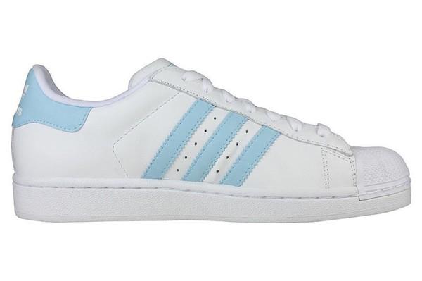 HeenyShop » Adidas Superstar 2 Retro White & Baby Blue