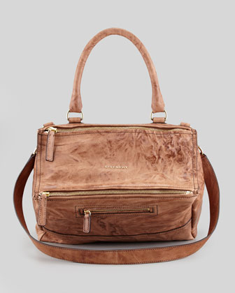 Givenchy Pandora Leather Satchel Bag, Medium - Bergdorf Goodman