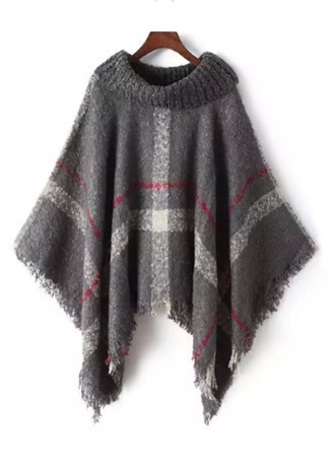 sweater knitwear cape knitted cape fall outfits autumn/winter
