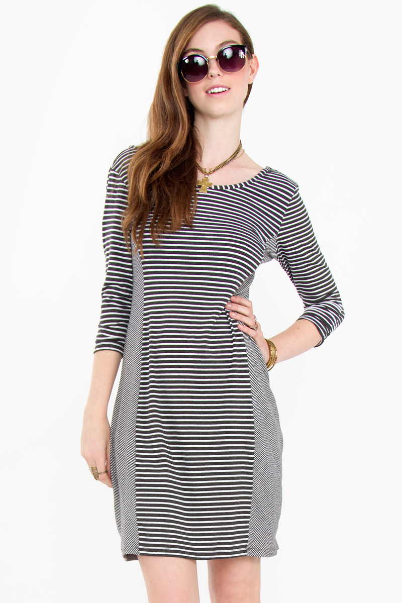Static stripe dress · trendyish · online store powered by storenvy