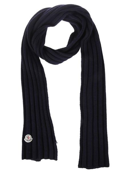 moncler scarf blue